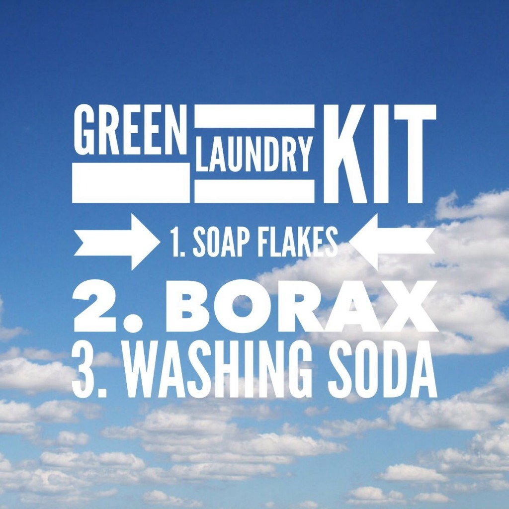 Green Laundry Kit