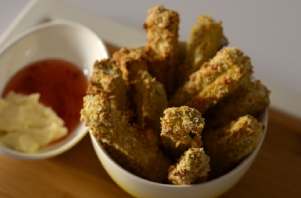 Baked eggplant fries
