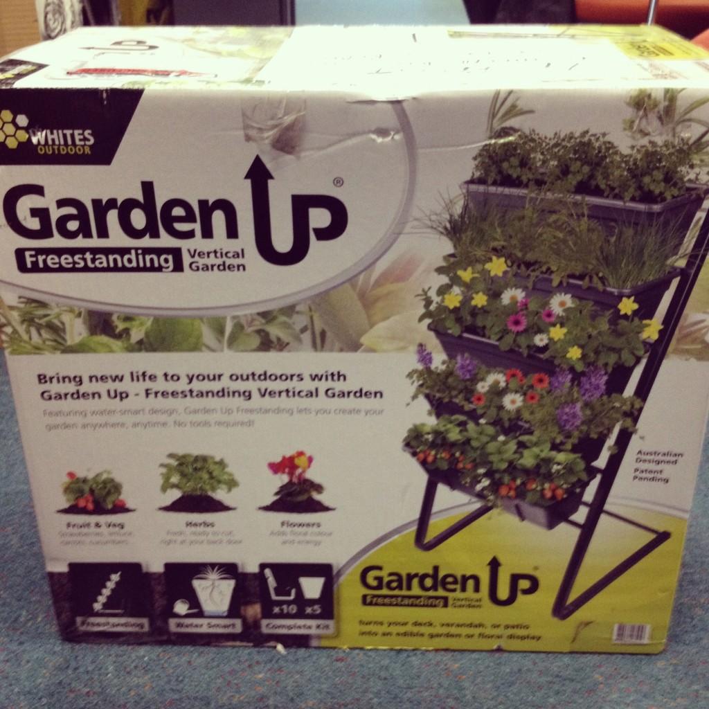 freestanding vertical garden