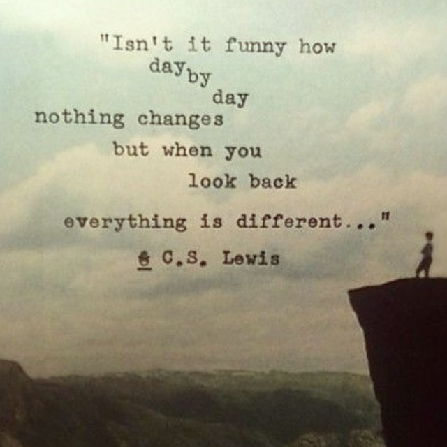 A little Tuesday note #quote #change