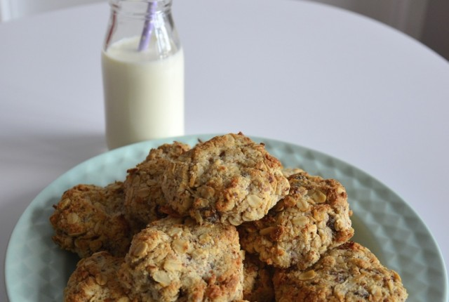 Coconut, Almond & Date Cookies