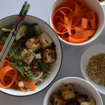 Recipe: Tofu Vermicelli Bowl