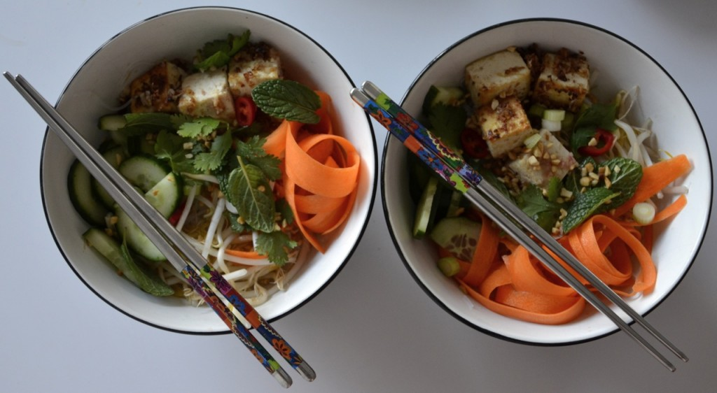 Tofu Vermicelli Bowl
