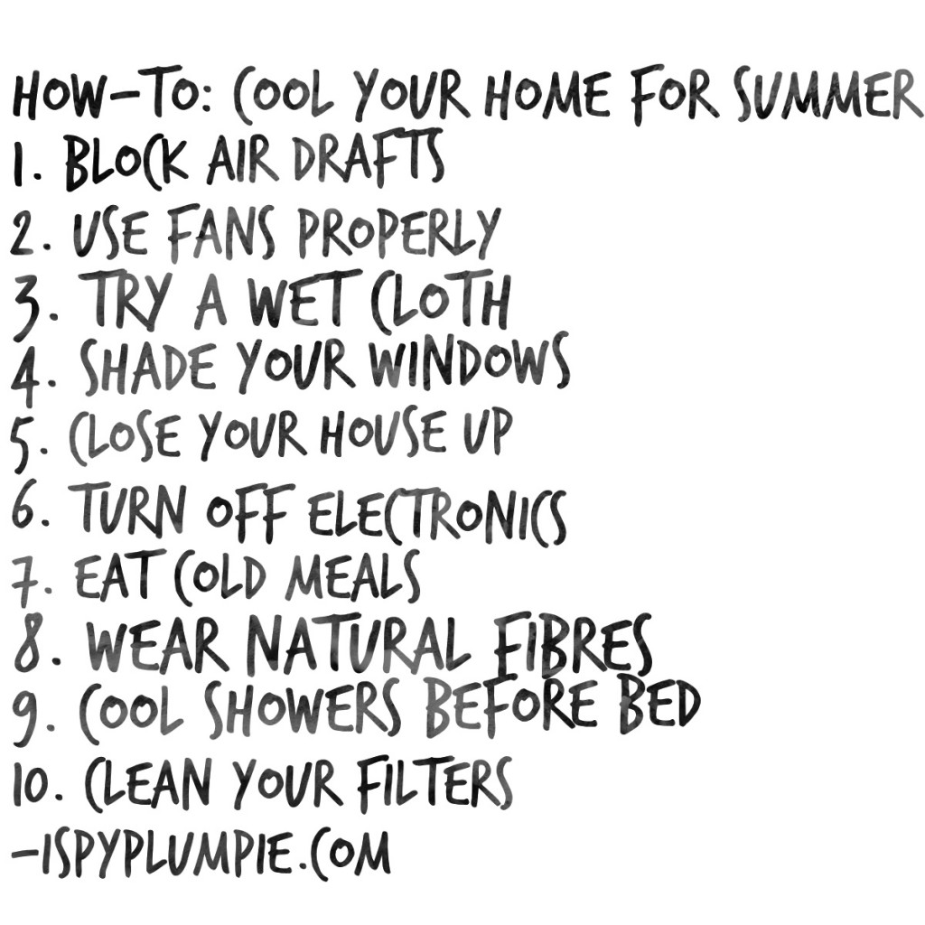 Cool your home for summer