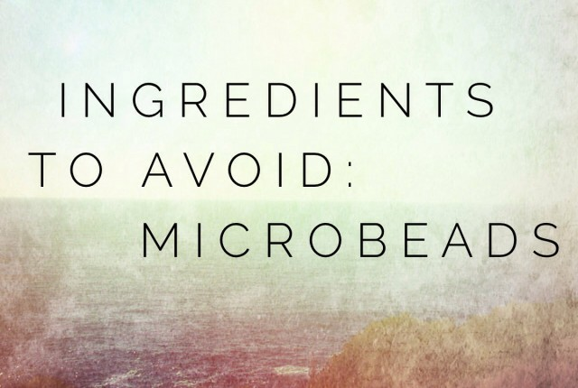 ingredients to avoid microbeads