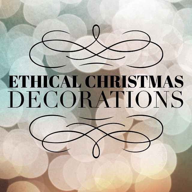Today on I Spy Plum Pie I'm sharing some of my favourite finds for ethical Christmas decorations featuring @downthatlittlelaneshop @hardtofind_  and more! #ecofriendly #ethical #decorations