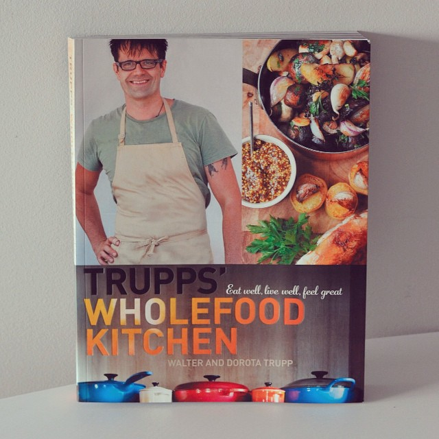 Fancy a free cookbook? I'm giving away a copy of the Trupps' Wholefood Kitchen book on I Spy Plum Pie and entry couldn't be easier! #freebie #giveaway #cookbook #wholefoods