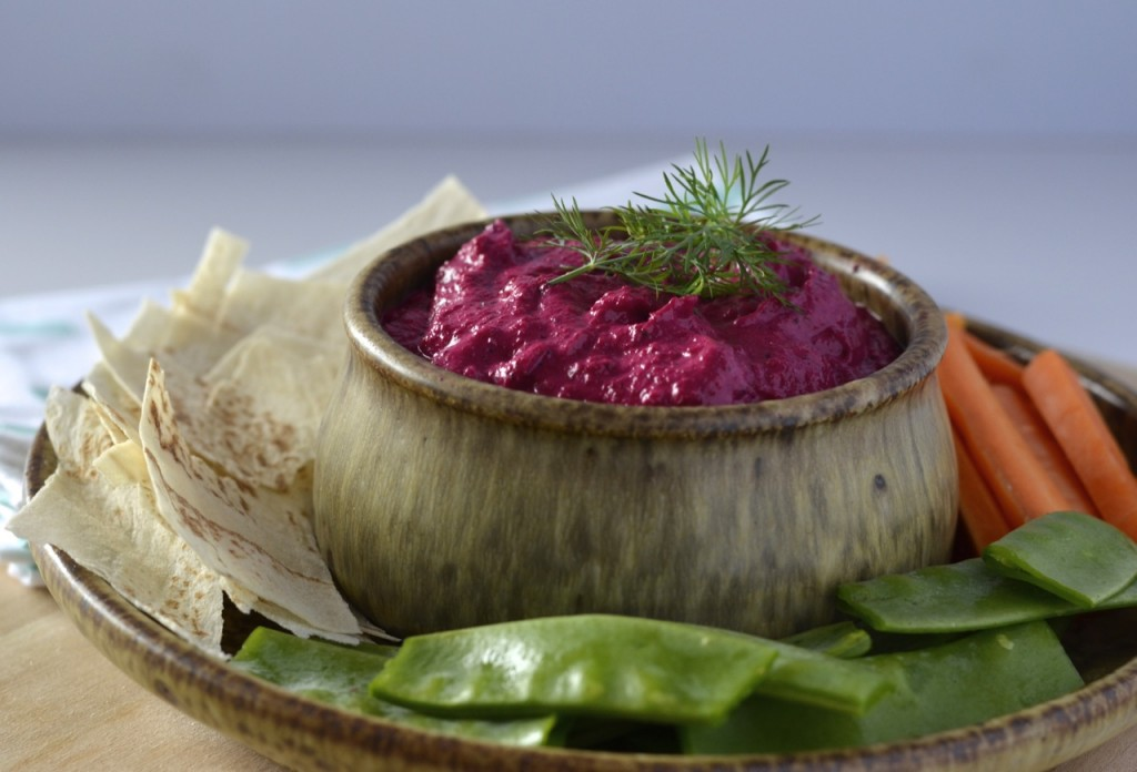 Roast Beetroot & Feta Dip