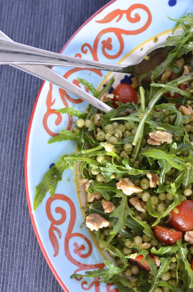 Pesto Israeli Couscous Salad