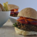 Recipe: Smokey Sweet Potato & Black Bean Burgers