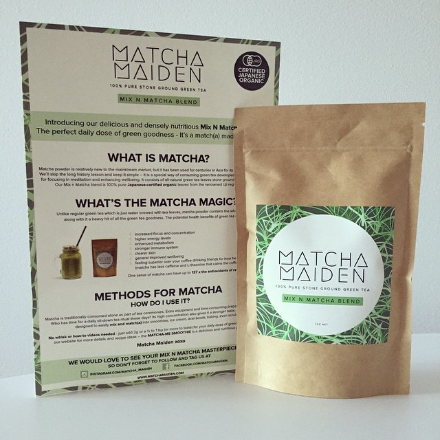 Weeee my @matcha_maiden order arrived, can't wait to get playing this weekend! #matchamaiden #delivery