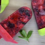 Recipe: Berry Mint Icy Poles
