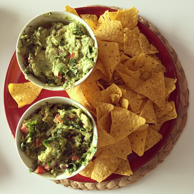 It's not a BBQ without large amounts of my guacamole! #guacamole #ontheblog