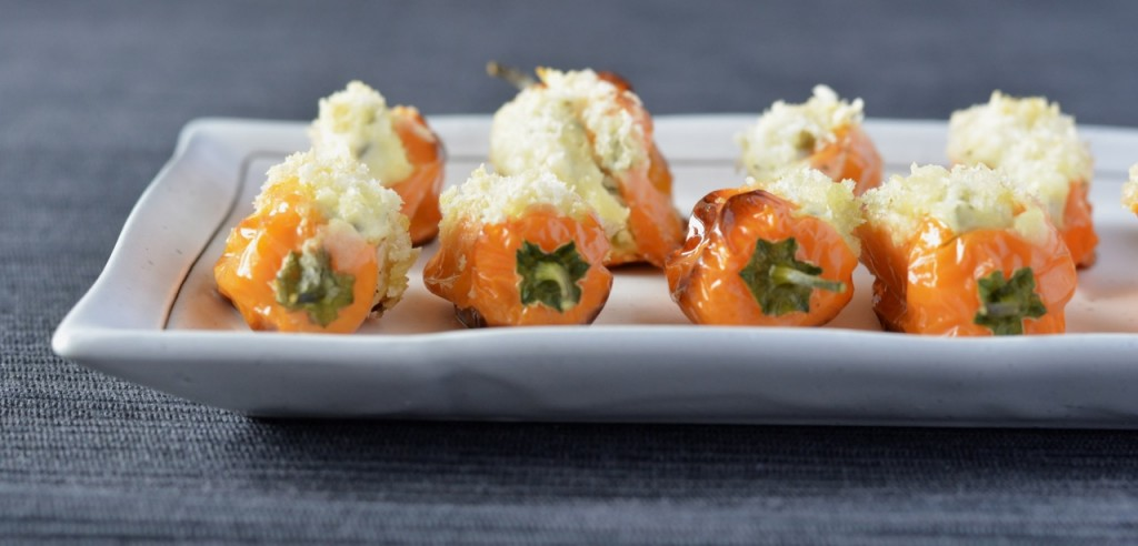 Ricotta Stuffed Mini Capsicums