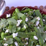 Recipe: Pea, Mint & Goats Cheese Salad