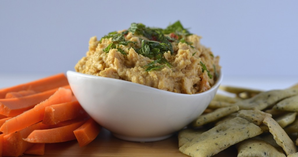 Harissa Hummus Dip recipe