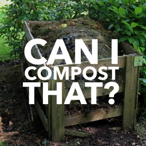 Can I Compost That?