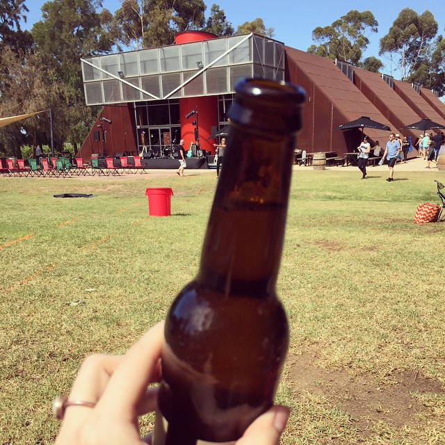 Beer in the sunshine at Shadowfax winery where @thisispasserine will be playing the I'm New Here festival this arvo. Happy Sunday indeed #imnewhere #shadowfax