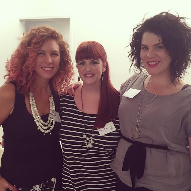 With the delightful @smaggle & @hairromance, @littleblogbig gurus and all round lovely ladies #littleblogbig #blogtraining
