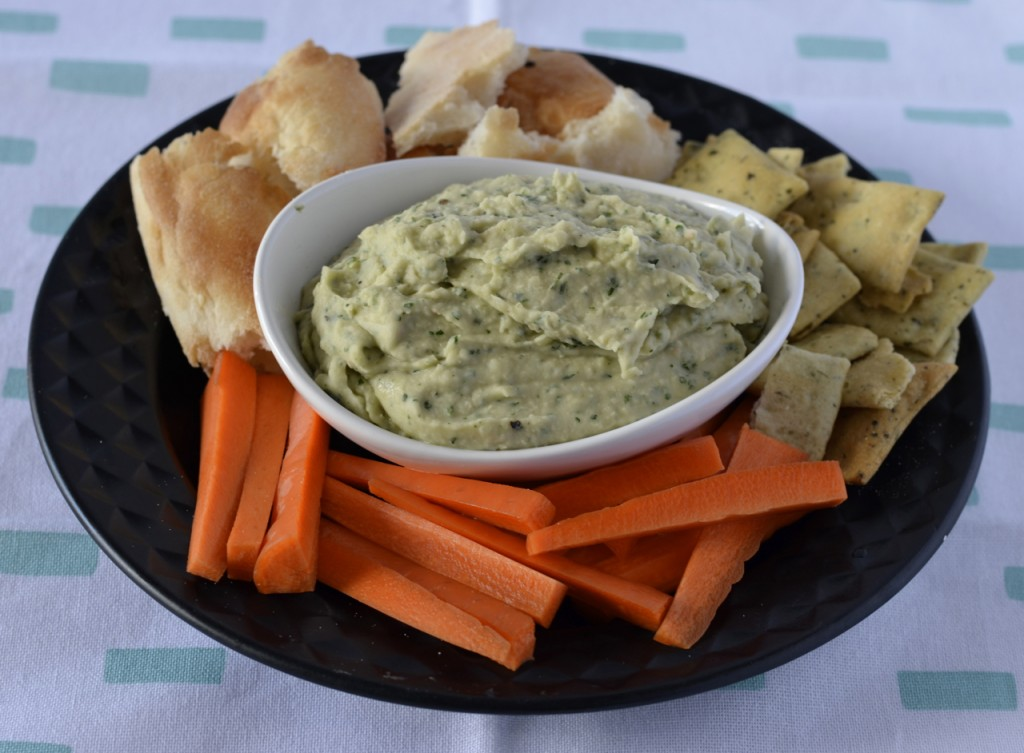 Rosemary Parsley Cannellini Bean Dip