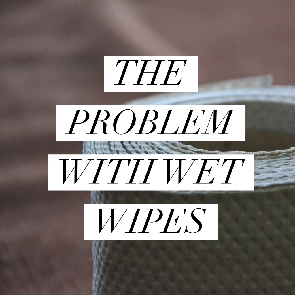 The problem with wet wipes