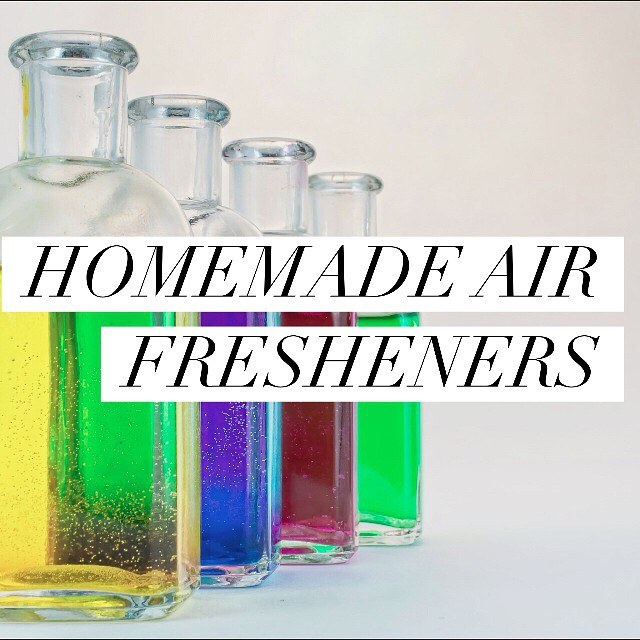 Want to rid your home of not-so-lovely smells without introducing artificial scents to mask them? I've got some super simple homemade air freshening solutions up on I Spy Plum Pie for you today! #ecoliving #homemade #airfreshener #lowtoxliving #essentialoils