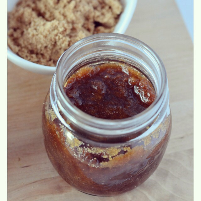 Here's another of the brown sugar scrubs that are up on I Spy Plum Pie today! Whip one up tonight and you'll have a luxurious treat for the your shower in the morning! Easy-peasie! #DIY #sugarscrub #ecobeauty #brownsugar