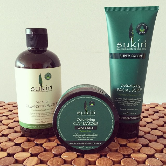 Have you tried any of the new @sukinskincare range? I picked up these three newbies a few weeks back and I'm loving them so far! #skincare #ecobeauty #ecofriendly