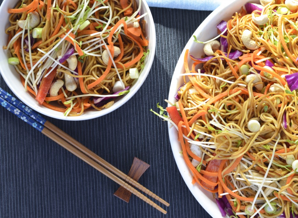 Vegetable Noodle Salad