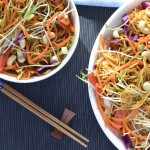 Recipe: Vegetable Noodle Salad