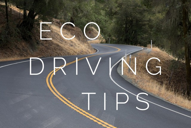 Eco driving tips