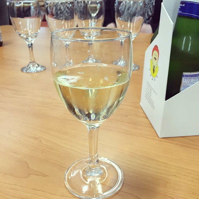 Occasionally drinks at work are a necessity. Lucky I have tomorrow off! #soniastylinghappyhour #workdrinks