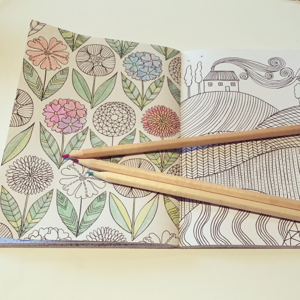 June Favourite Finds - Mindfulness Colouring