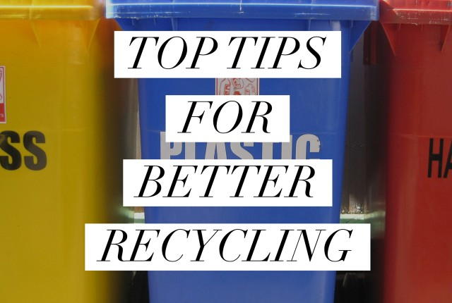Top Tips for Better Recycling | I Spy Plum Pie
