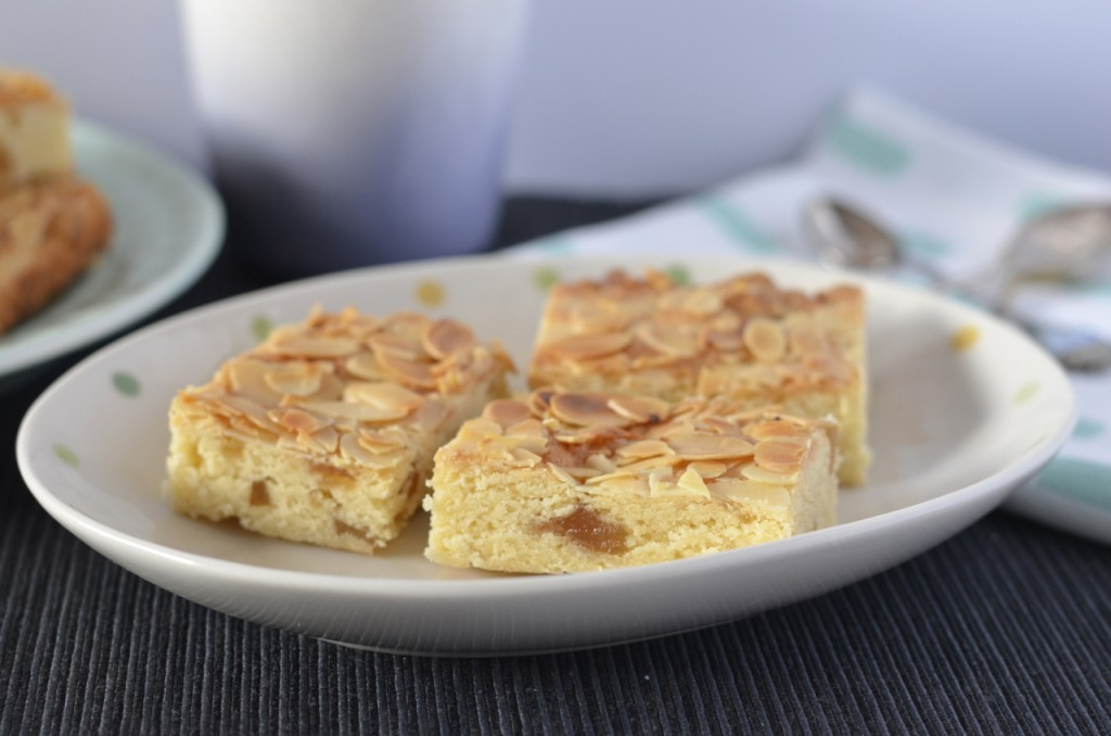 Almond & Ginger Slice | I Spy Plum Pie