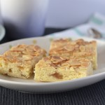 Recipe: Almond & Ginger Slice