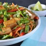 Recipe: Baked Tofu Vermicelli Salad