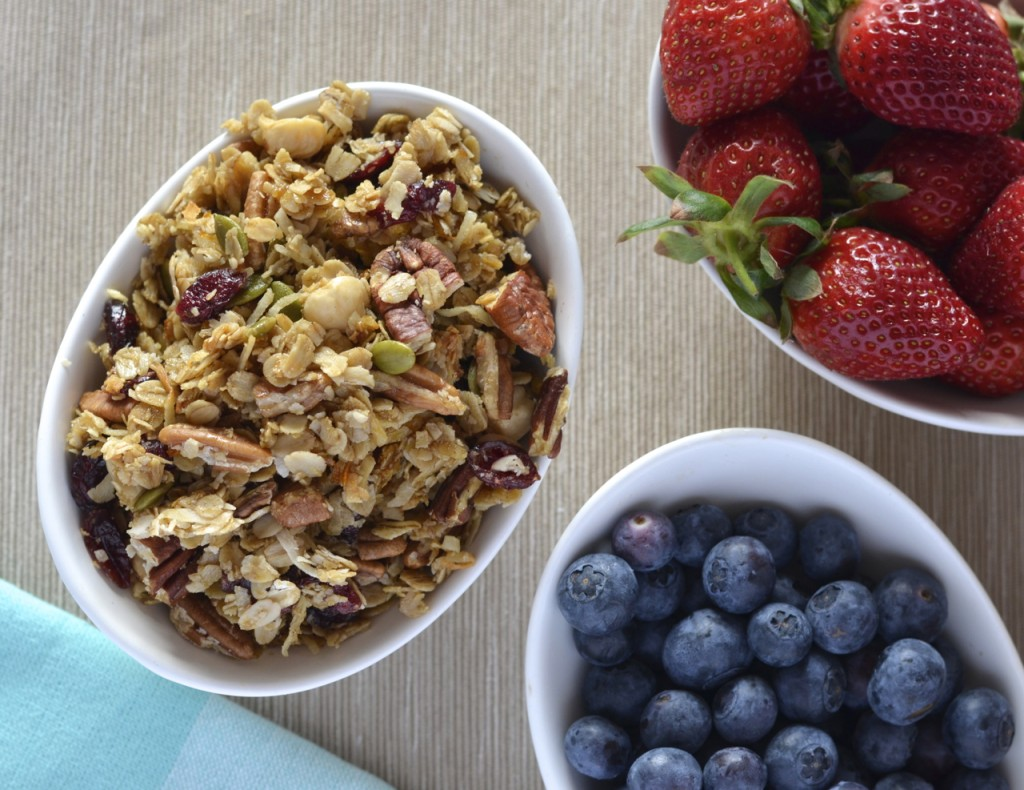 Orange Pecan Granola | I Spy Plum Pie