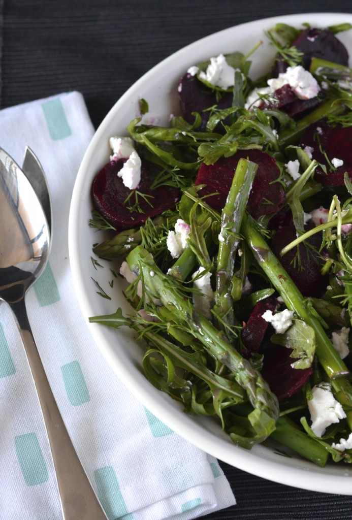 Beetroot Asparagus Salad | I Spy Plum Pie