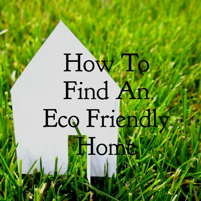 How To Find an Eco Friendly Home