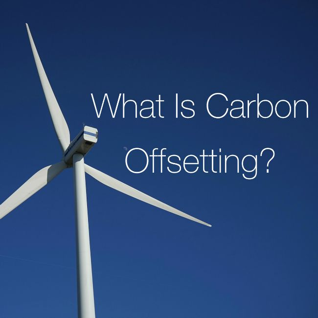 What is carbon offsetting