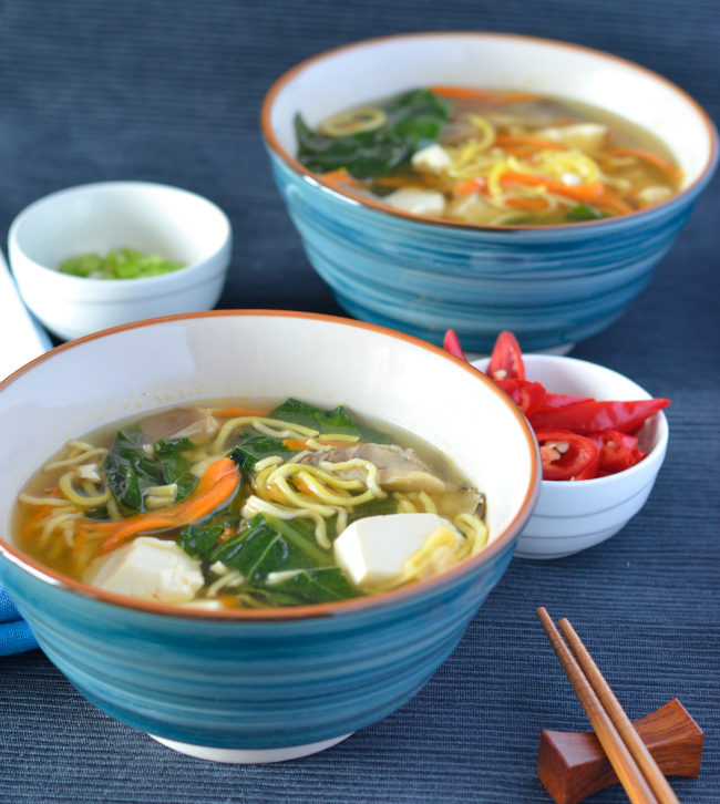 Chinese Noodle Soup | I Spy Plum Pie