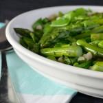 Recipe: Pea & Asparagus Israeli Couscous Salad