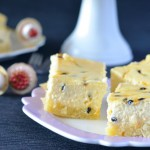 Recipe: Passionfruit Cheesecake Slice