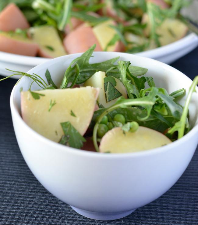 Spring Potato Salad   I Spy Plum Pie