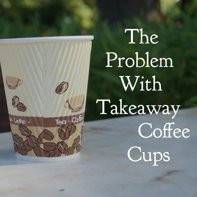 The problem with takeaway coffee cups