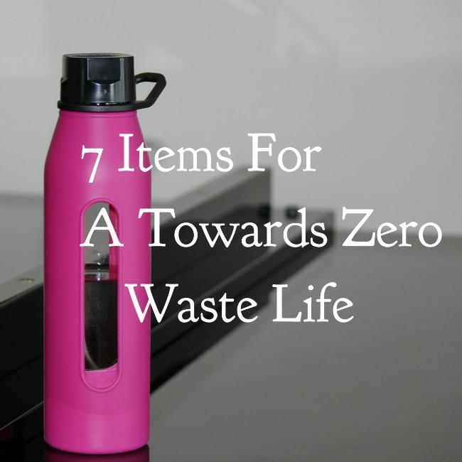 7 Items for a Towards Zero Waste Life | I Spy Plum Pie