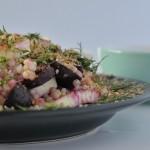 Recipe: Beetroot Haloumi Salad
