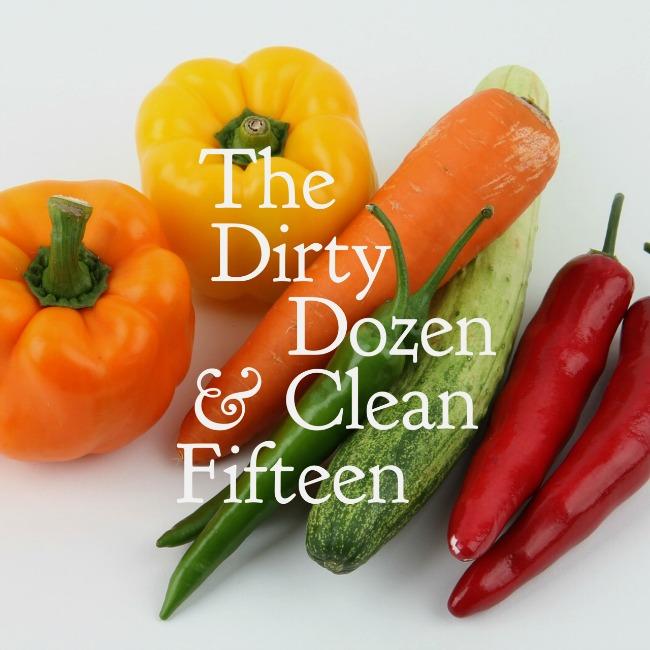 Dirty Dozen and Clean Fifteen