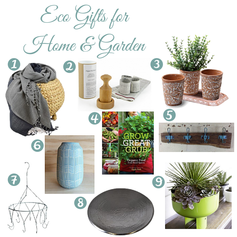 Eco Gift Guide: Home & Garden | I Spy Plum Pie